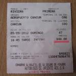 Стоимость проезда из аэропорта Канкуна до центра города.