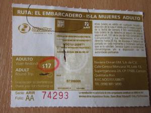Стоимость проезда на Исла-Мухарес