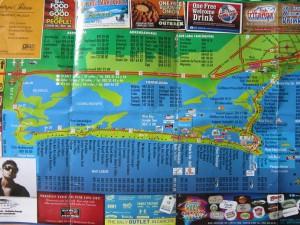 Карта Канкуна