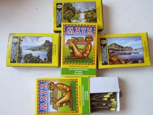 Мексиканские сувениры - спички