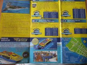 Расписание катеров на остров женщин