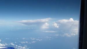 В небе над океаном
