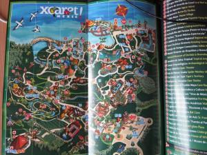 Схема эко-парка Шкарет