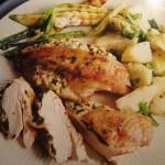 Второе блюдо с курицей