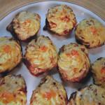 Горячая закуска из грибов