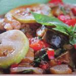 Овощное рагу, втрое блюдо
