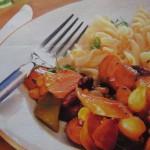 Второе блюдо из колбасы