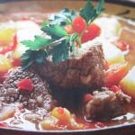 Блюдо из мяса говядины