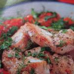 Втрое блюдо из курицы