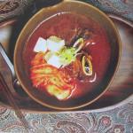 Суп из говяжьих рёбрышек