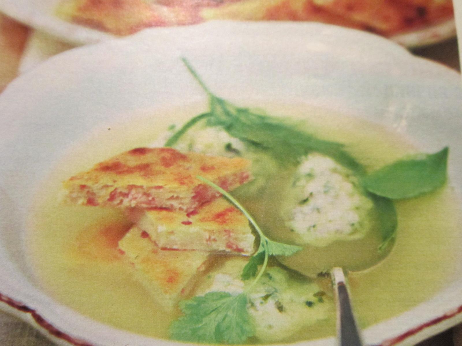 Суп рисовый с клецками пошаговый рецепт