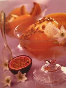Десерты из экзотических фруктов