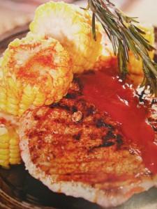 блюда на гриле