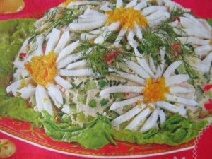 Праздничные салаты