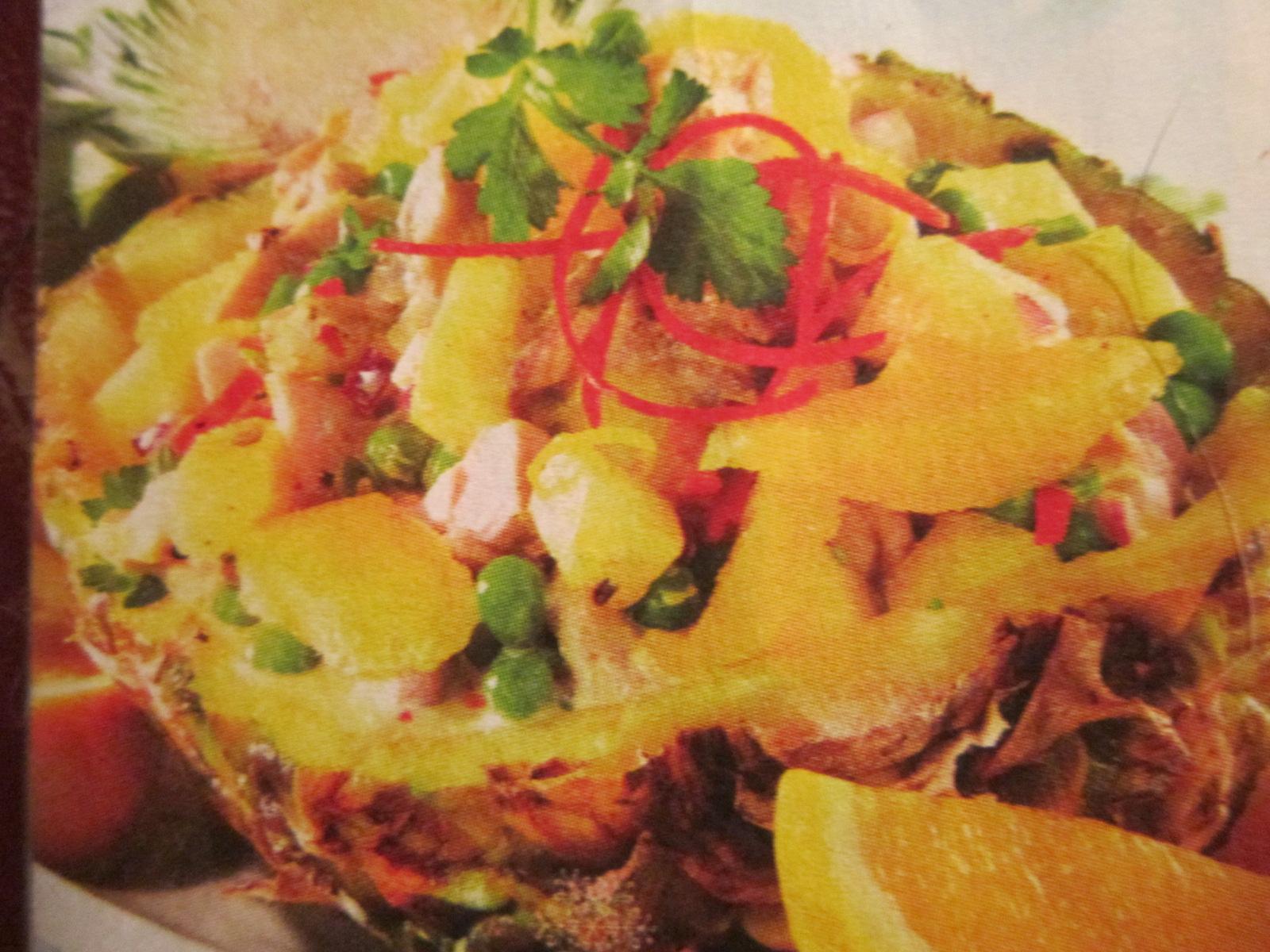 Фото рецепт салата подкова пошагово