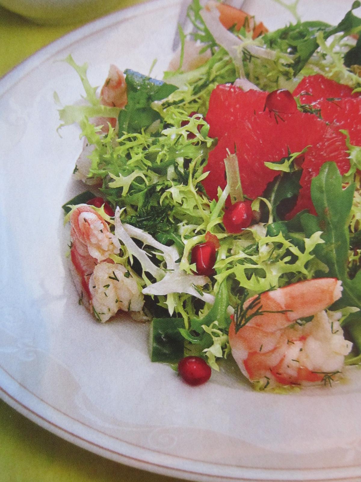 Салат с креветками в креманках рецепт пошагово