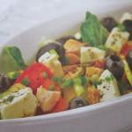 Салаты из овощей с курицей