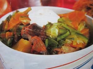 Супы с субпродуктами