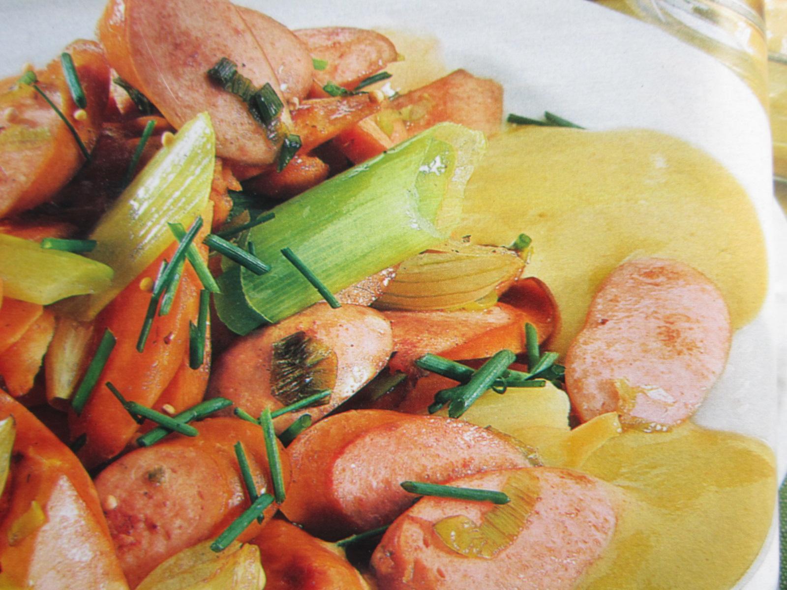 Сосиски с горчицей рецепт