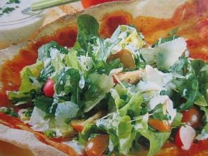Салаты из овощей. Оригинальная подача салатов