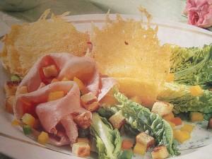 Салаты с колбасами