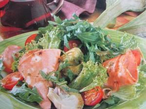 Овощной салат. Постный салат