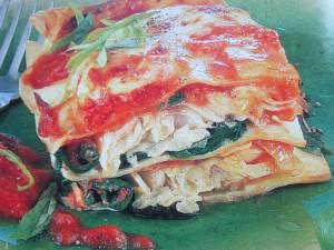 Рыбная лазанья