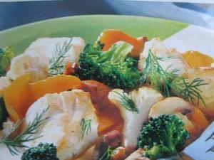 Блюда с рыбой