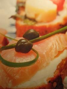 Банкетные новогодние блюда. Бутерброды