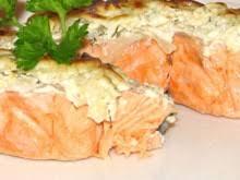 Русская кухня. Холодное из картофеля с лососем