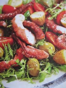 Итальянские салаты из морепродуктов