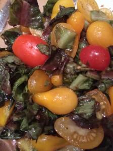 Салат из овощей. Постные салаты.