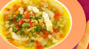 Супы. Блюда из курицы