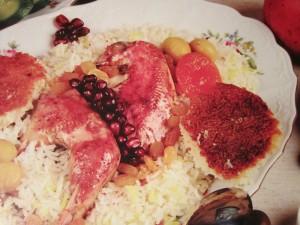 Нарданча плов. Азербайджанская кухня