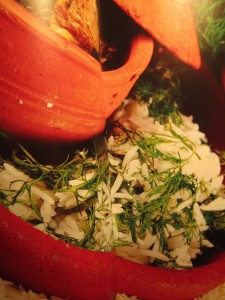 Шуюдлу плов. Азербайджанская кухня