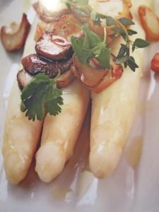Блюда с грибами. Блюда со спаржей