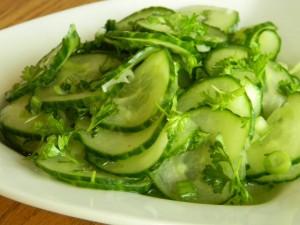 Удмуртская кухня. Блюда из свежих овощей