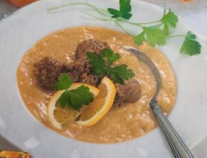 Суп из гороха с фрикадельками