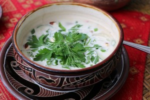 Холодные супы. Рыбные блюда