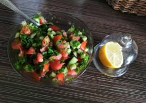Летние овощные салаты