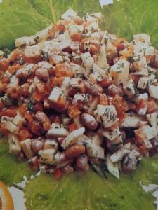 Салаты с бобовыми.