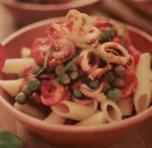 Паста. Блюда с морепродуктами