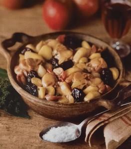 Салат из орехов и сухофруктов