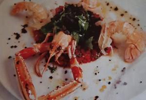 Блюда с морепродуктами